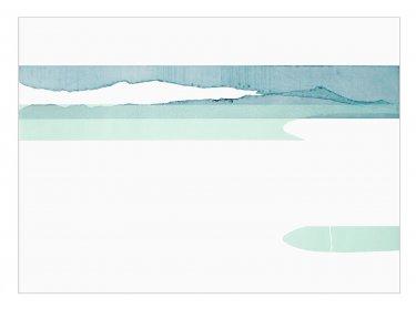 Ashore III, 2007, Radierung, Hochdruck, 50 x 70 cm