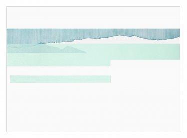 Ashore II, 2007, Radierung, Hochdruck, 50 x 70 cm