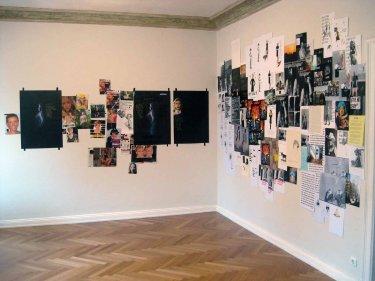 Ausstellungsansicht 'Bis die Vögel', 2009, Umtrieb – Galerie für aktuelle Kunst, Kiel