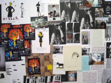Ausstellungsansicht 'Bis die Vögel', 2009, Umtrieb – Galerie für aktuelle Kunst, Kiel, Detail