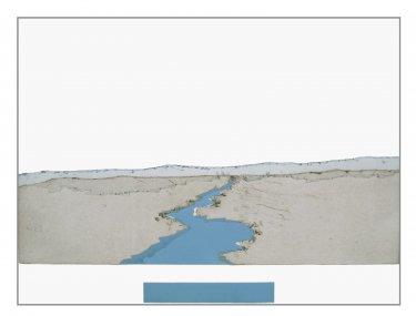 Delaware III, 2008, Radierung, Hochdruck, 30 x 40 cm