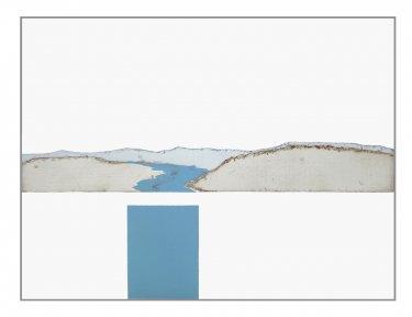 Delaware I, 2008, Radierung, Hochdruck, 30 x 40 cm