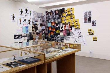 Ausstellungsansicht, Studienzentrum Weserburg, Bremen, Foto: Bettina Brach
