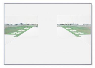 Infrabarock, 2011, Radierung, Hochdruck, 70 x 100 cm