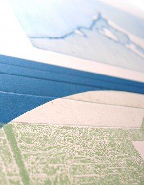 Inshorel, 2012, 100 x 70, Radierung, Hochdruck, Detail