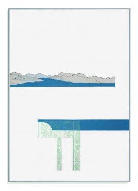 Inshore II, 2012, Radierung, Hochdruck, 100 x 70 cm