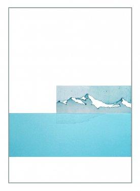 Lake XIV, 2007, Radierung, Hochdruck, 100 x 70 cm