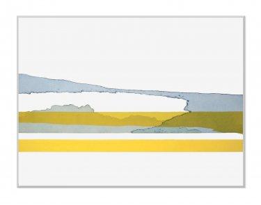 Raps III, 2009, Radierung, Hochdruck, 60 x 80 cm