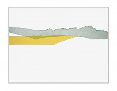 Raps VI, 2009, Radierung, Hochdruck, 60 x 80 cm