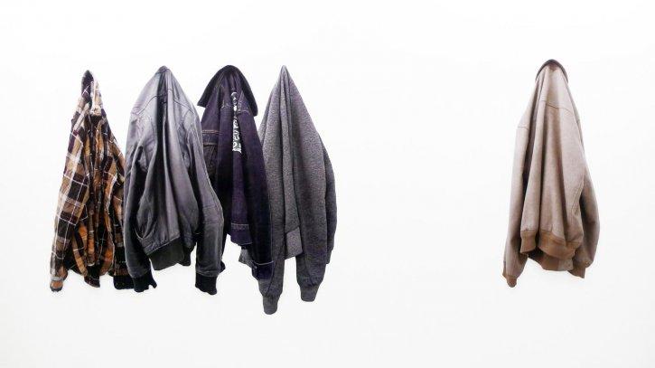 Thomas Judisch: 'Lawrence, Matthias, Benjamin, Hannes und Mikka', 2013, C-Print auf PVC
