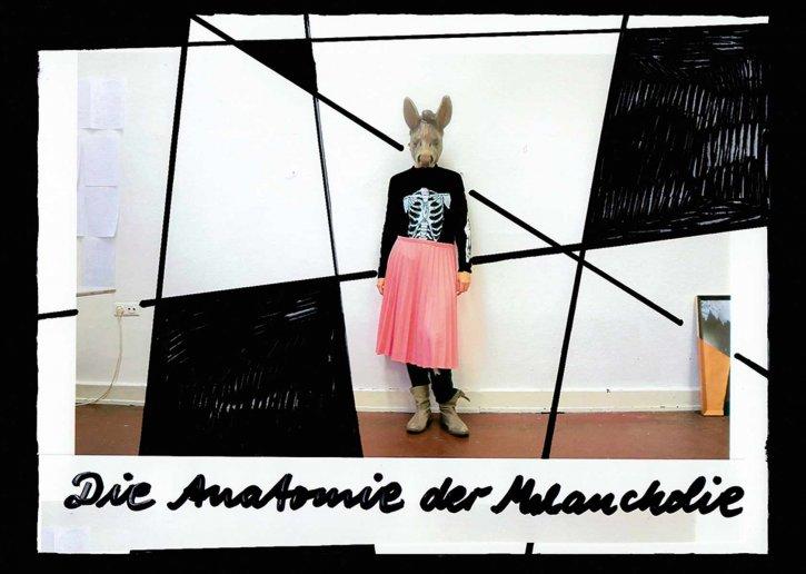 'Anatomie der Melancholie', Einladungsmotiv